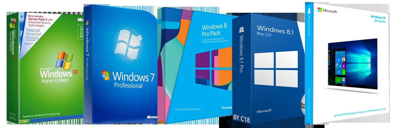 Установка системы Windows