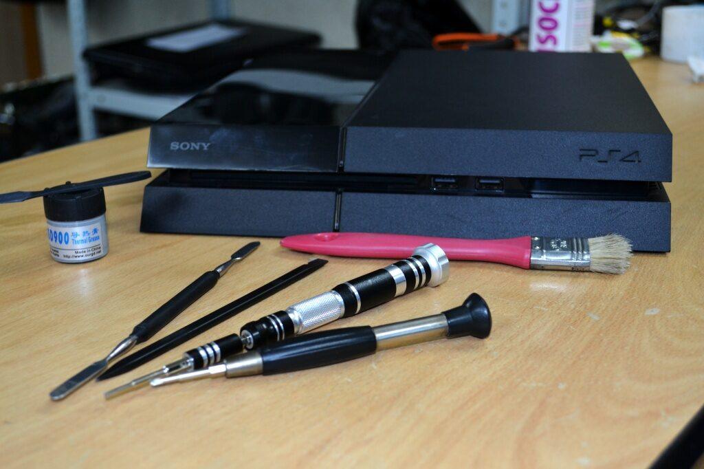 86e93ca8f1ee088677e9b1227578ce02 1024x682 - Техническое обслуживание Sony PlayStation 4